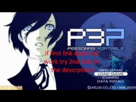 Persona 3 Portable Psp Walkthrough Persona 3 Portable no