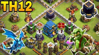 th12 farming base 2018/coc th12 all storage protection farming base ...