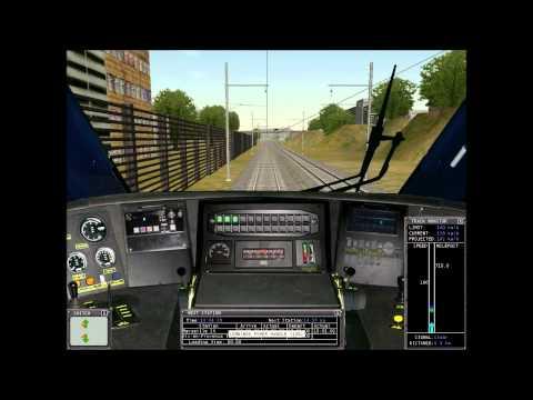 Microsoft Train Simulator - LGV Med - Marseille - Aix en Provence - TGV Duplex (Fraps 3.2.3 Test)