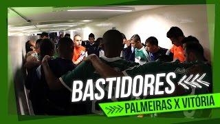 Bastidores - Palmeiras 2 x 0 Vitória - Brasileirão 2014 - 2º turno