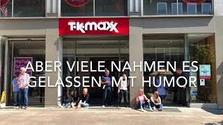 Eindrücke aus der Lübecker Innenstadt während des Stromausfalls