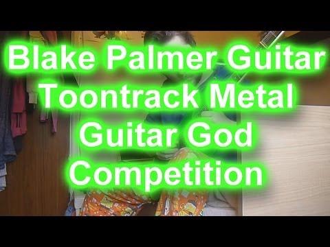 Blake Palmer Toontrack Metal Guitar God Entry