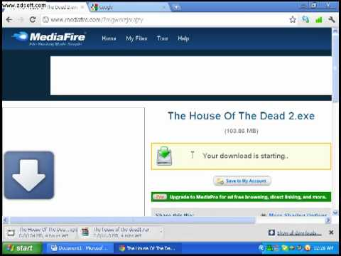 How to download The house of the dead 1 , 2 , 3