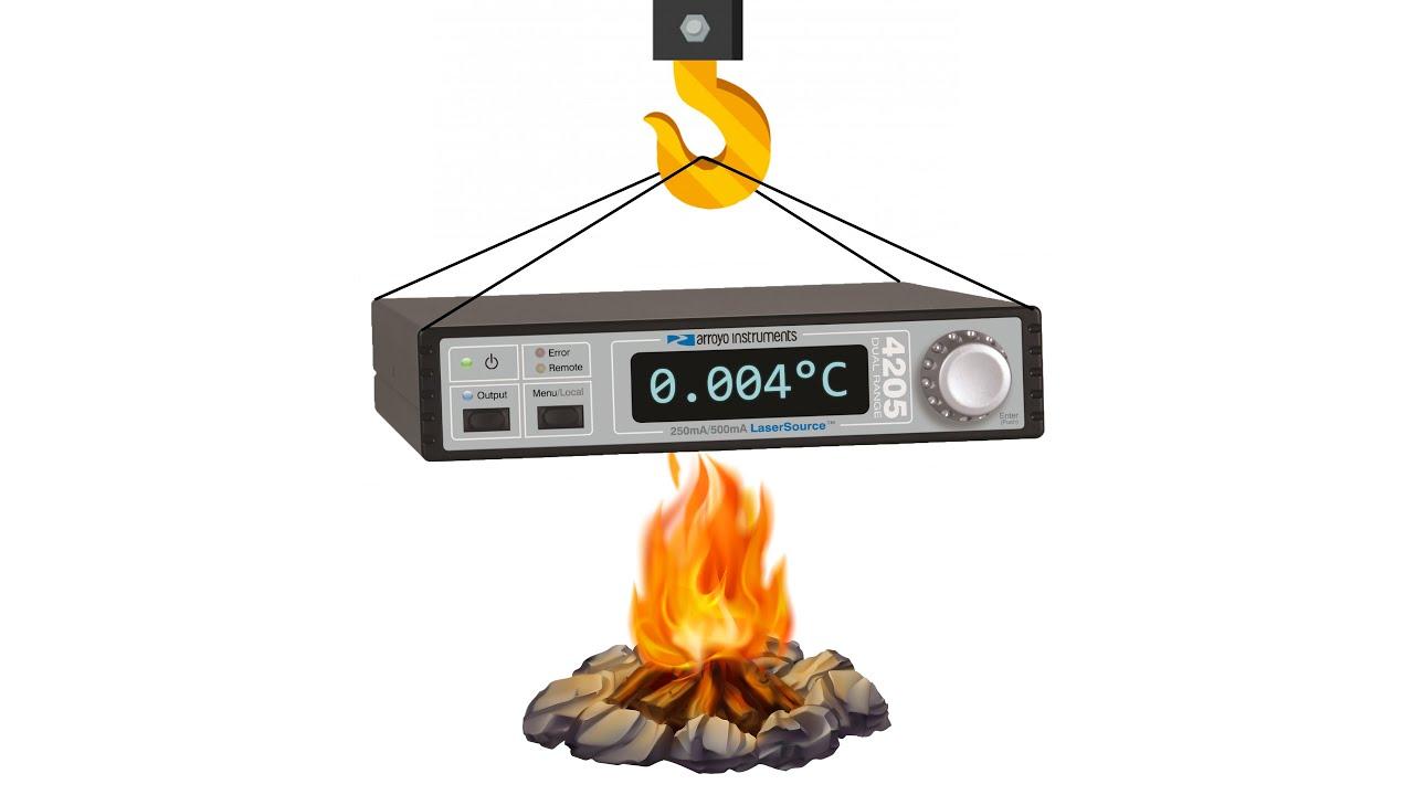 Repair: 0.004°C Temperature Controller Arroyo 5235 TECSource