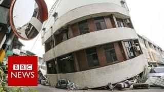 Taiwan Earthquake: 6.4 quake topples buildings in city of Tainan - BBC News
