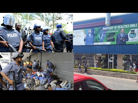 POLICE @TTACK CONGREGANTS AT CHRIST EMBASSY CHURCH AS BAN ON GATHERINGS IS LIFTED
