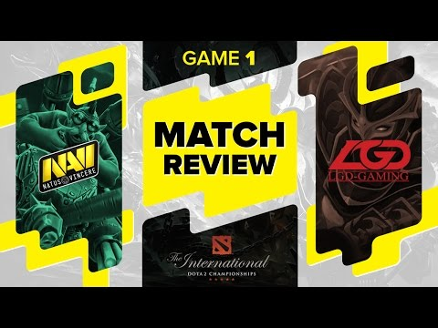 MATCH REVIEW: Na`Vi vs LGD Gaming - Game 1 @ The International 6