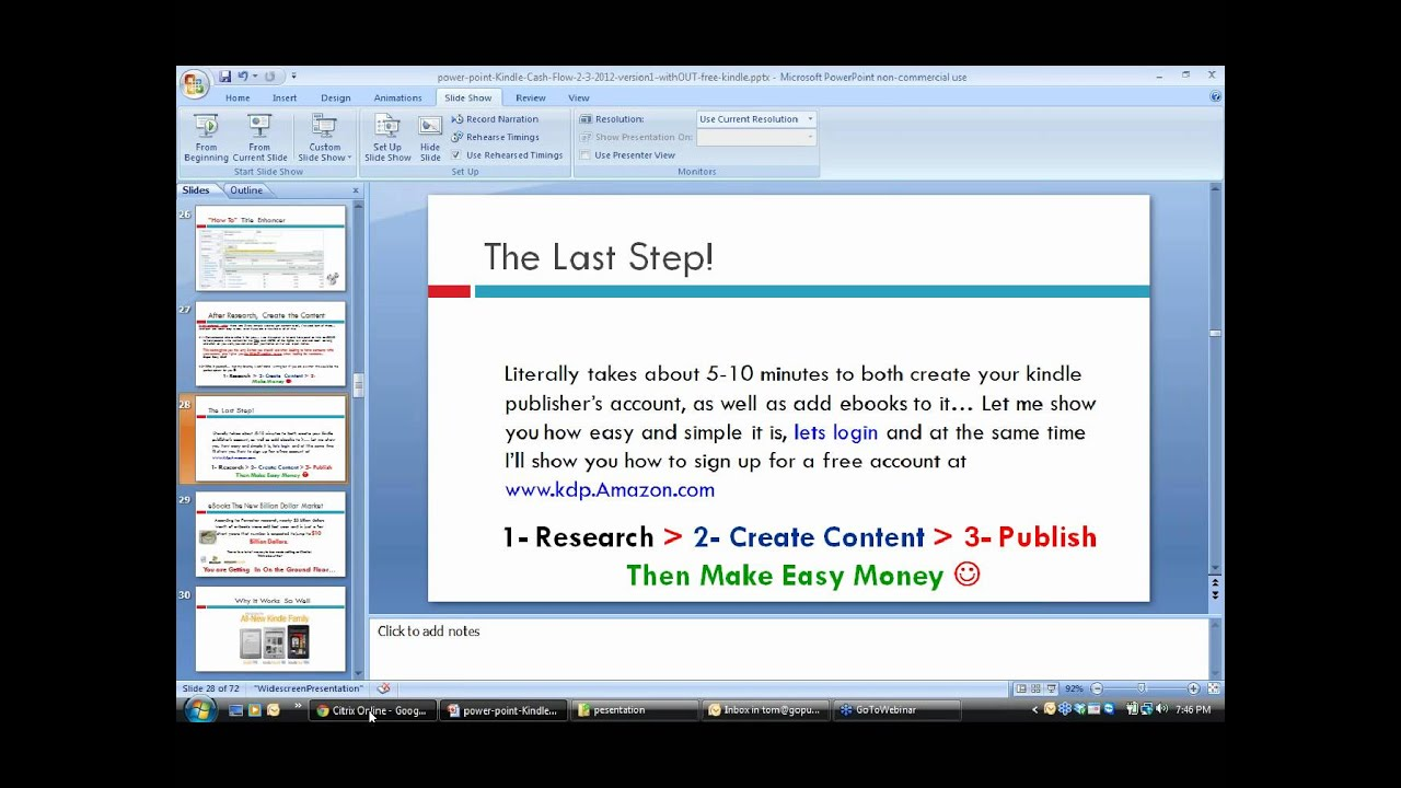 How To Self Publish On Amazon Kindle Jv Webinar Ty Cohen And Adrian  Niculescu