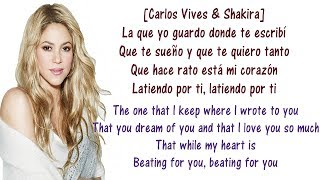Baixar Carlos, Shakira - La Bicicleta - Lyrics English and Spanish - The bicycle - Translation & Meaning