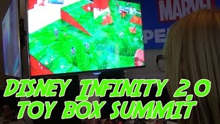 Disney Infinity Toy Box Summit Part 1