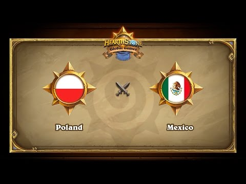 Poland vs Mexico, Hearthstone Global Games Group Stage
