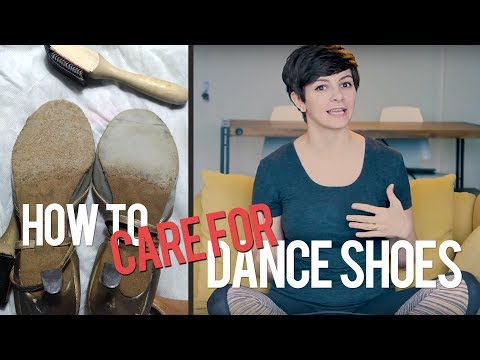 DANCE SHOE TIPS // Brushing and Caring for Dance Shoes