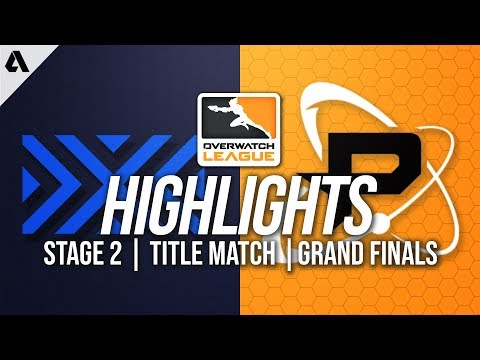 New York Excelsior vs Philadelphia Fusion | Overwatch League Highlights OWL Stage 2 Title Match