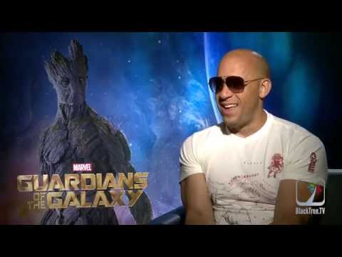 Vin Diesel Interview Guardians of The Galaxy