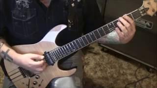 Michael Schenker Fest - Warrior - CVT Guitar Lesson by Mike Gross