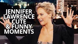 Jennifer Lawrence Cute and Funny Moments | Passengers