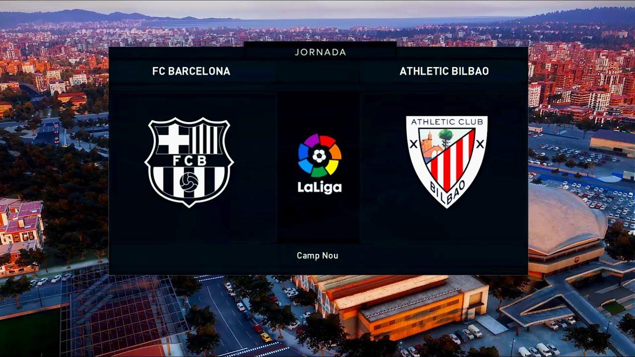 Barcelona vs Athletic Bilbao   Camp Nou   2019-20 La Liga ...