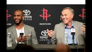 NBA: Paul focused on recruiting LeBron to Houston