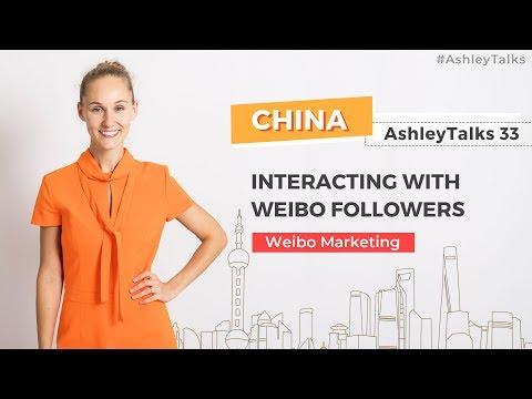 Interacting with Weibo Followers - Ashley Talks 33