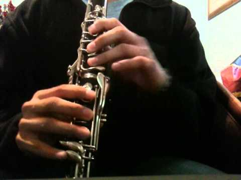 The Office Theme Song on Clarinet (Sheet Music in Description) - YouTube