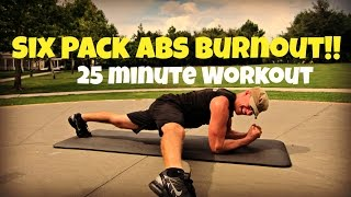 25 min Six Pack Ab Workout - Sizzling Total Body Pilates Core Exercises #coreworkout