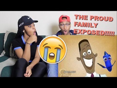 """Couple Reacts : """"PROUD FAMILY: EXPOSED"""" By Berleezy Reaction!!!"""