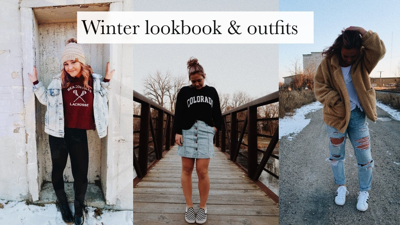 WINTER LOOKBOOK // OUTFIT IDEAS 3