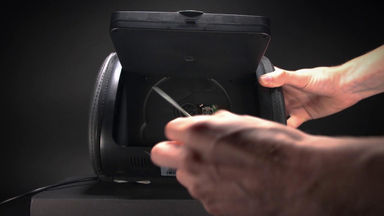 Xtrons monitor headrest dvd player / hd705 | head rest monitors.