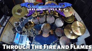 DragonForce - Through The Fire And Flames (Drum Cover)