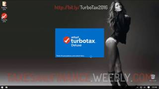 TurboTax 2016 2017 Tutorial