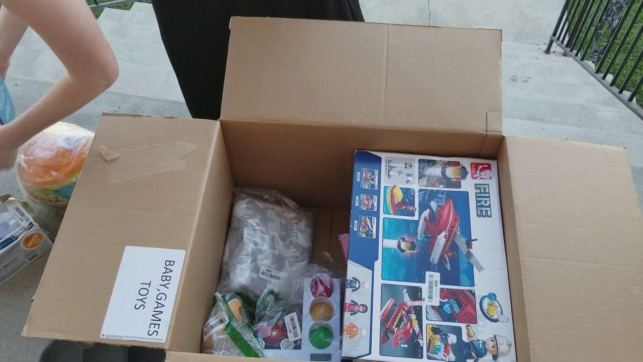 Amazon returns auction liquidation haul toy auction box 5 of 5