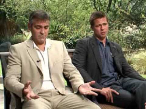 Interview with George Clooney and Brad Pitt
