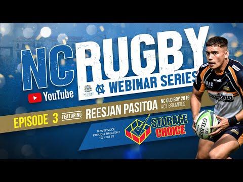 Nudgee Rugby Webinar Series - Episode 3: Reesjan Pasitoa