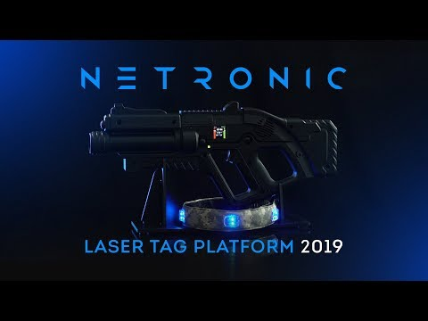 NETRONIC Laser Tag Equipment | The New Platform Presentation