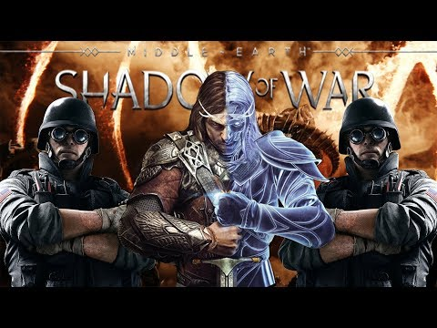 SIEGE THE FORTRESS | Middle Earth: Shadow of War | Shadow of War Funny Moments