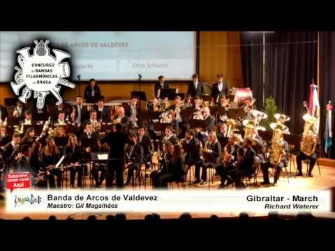 CBF Braga 2016 | Banda de Arcos de Valdevez | Gibraltar - March streaming vf