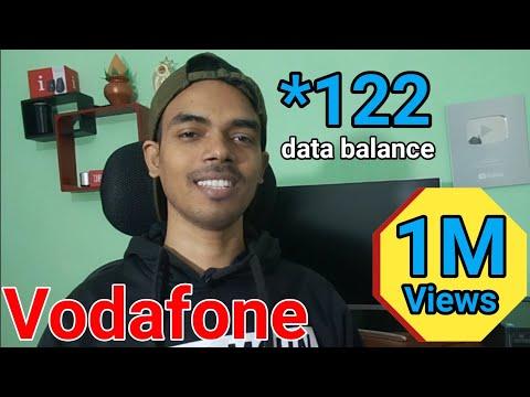 how to check vodafone net balance