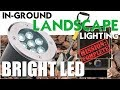 BRIGHT LED Landscape Lighting | In-Ground Low-Voltage Lights