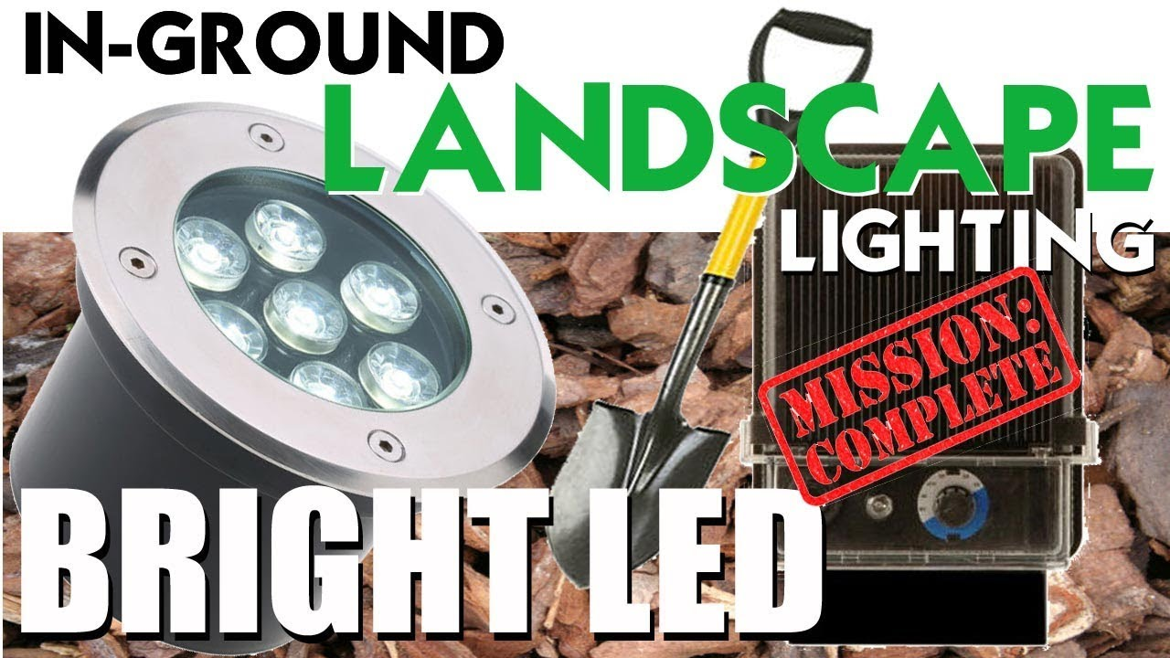 Bright led landscape lighting in ground low voltage lights youtube bright led landscape lighting in ground low voltage lights mozeypictures Gallery