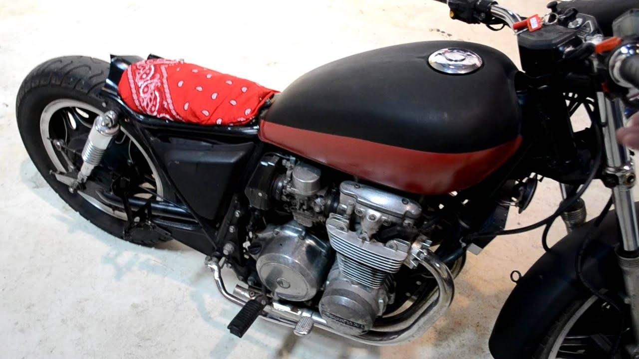 1981 Honda Cb650 Bobber For Sale Youtube