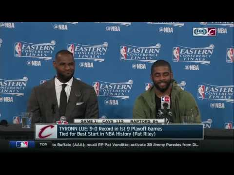 Kevin Love with a comparison that leaves LeBron and Kyrie speechless