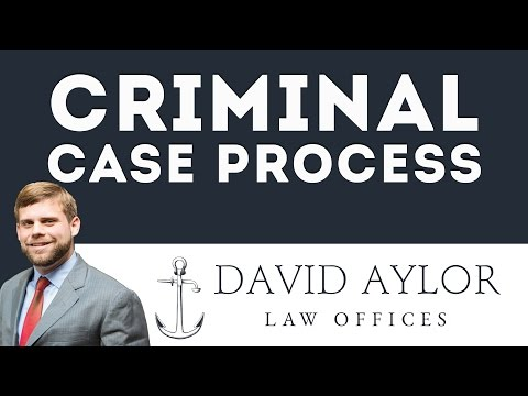 What's the Criminal Case Process? | Charleston SC Criminal Defense Lawyer