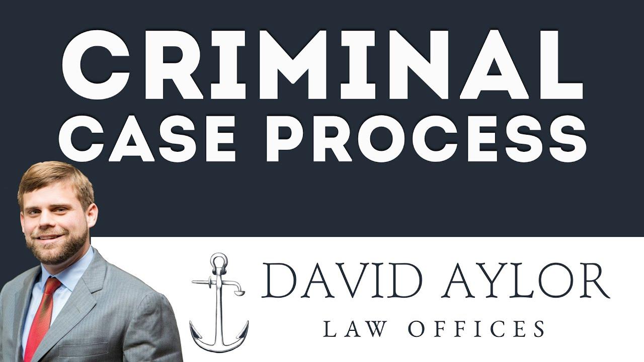 What's the Criminal Case Process? | Charleston SC Criminal Defense Lawyer