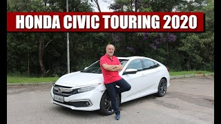 Honda Civic Touring 2020 - Teste do Emilio Camanzi