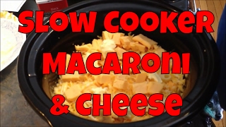 Easy And Delicious Slow Cooker Macaroni And Cheese