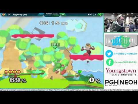 Arcadian | Eggnawg (Sheik) vs. Kofi (Yoshi) | Top 16 Grand Finals