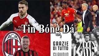 Tin bóng đá | Chuyển nhượng | 17/08/2018 : Pogba được MU thưởng lớn, Milan sắp có Savic,Ramsey ở lại