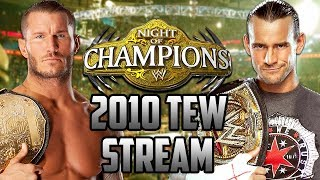 Night of Champions PPV | WWE 2010 | Total Extreme Wrestling