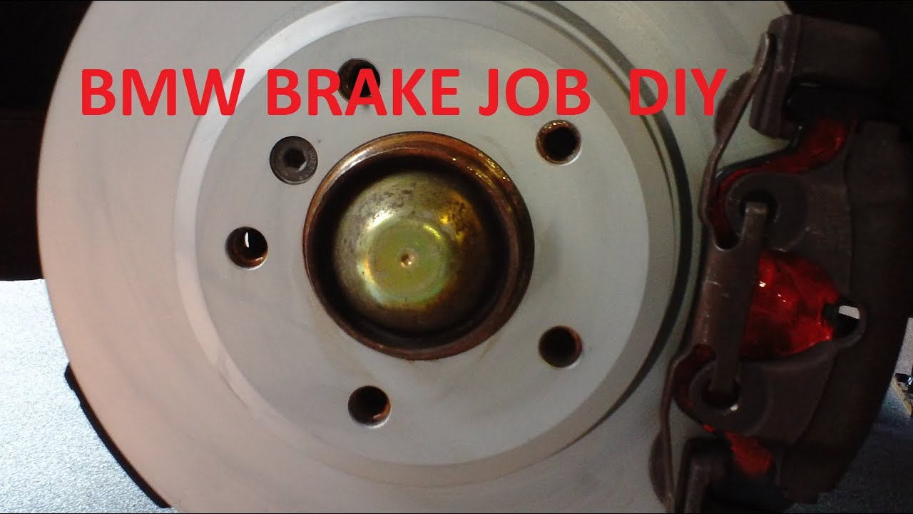 Disc Brake Rotors >> BMW 3 Series DIY Brake Job E30 E36 E46 - YouTube