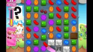 Candy Crush Saga Level 729 no Booster